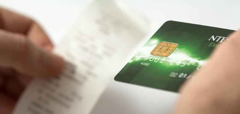 クレジットカードと明細