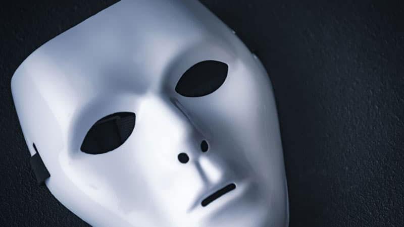 犯人の仮面